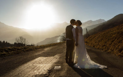 French Alps for a special wedding day!