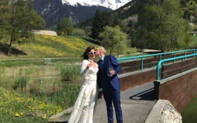 A beautiful Spring wedding