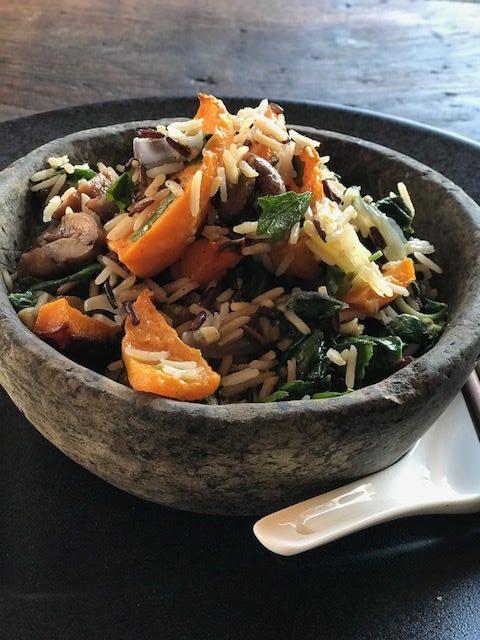 Winter fried rice
