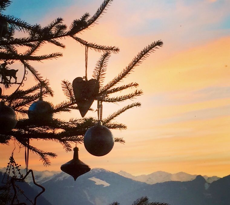 Christmas love in the French Alps